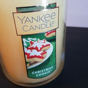 Yankee candle Christmas cookie. New